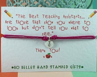 Personalised Thank You Teacher Gift TA Nursery Assistant