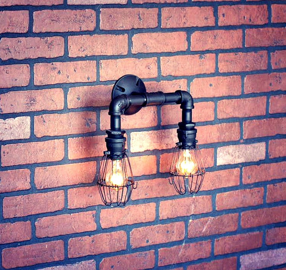 Industrial Wall Sconce Lighting by Illuminology - wall-lights-sconces, restaurant-bar