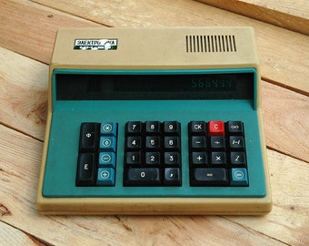 """Soviet Rare Calculator Electronica MK-59 """"Электроника МК-59"""" 1984  from USSR Electronika"""
