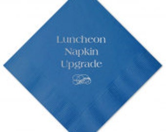 Luncheon Napkin Upgrade (Select Design from Current Listings)