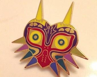 The Legend of Zelda Majora's Mask Metal Pin Badge Nintendo