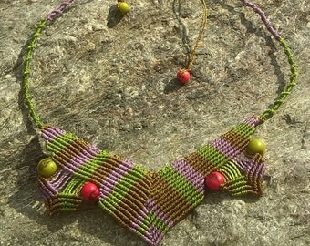 Macramé necklace