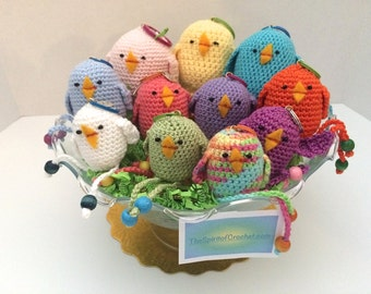 CREATOR CROCHET CHICKS & Eggcups