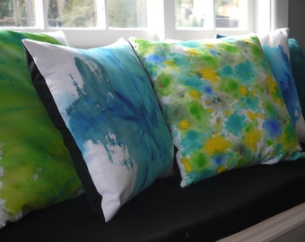 Lime sorbet cushion