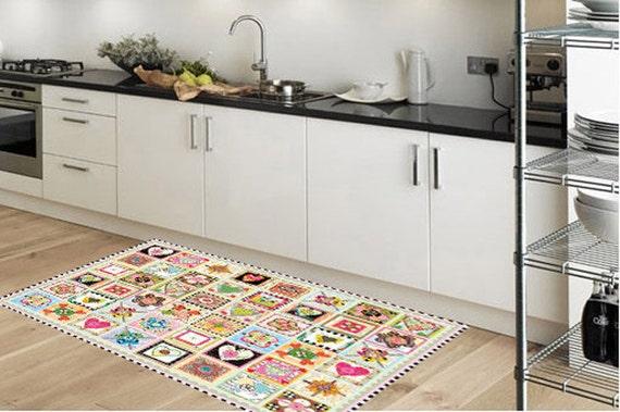 Kitchen rug model stamps suitable for kitchen by printip for Flooring suitable for kitchens