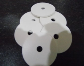 White Silicone Washers
