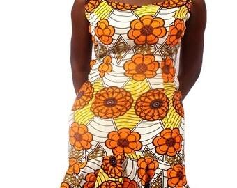 SALE!!!  Nura Ankara Dress – Orange