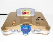Nintendo 64 Custom Zelda Console