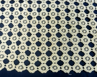Vintage Crocheted Table or Dresser Runner