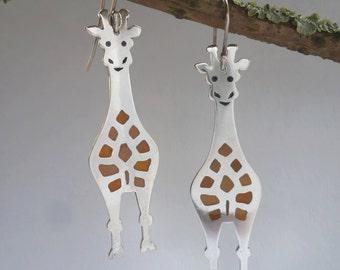 Enamel giraffes
