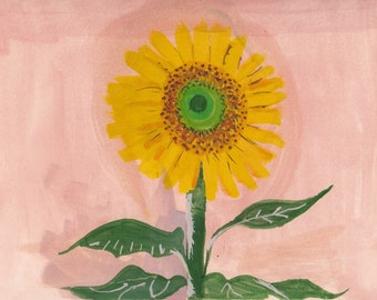 Sun flower set of 4 cards