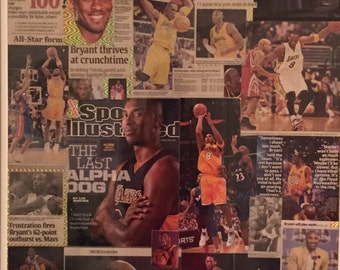Kobe bryant collage,has been sold,but you can place a special order.
