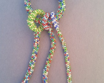 Multi Colored Dangle Keychain