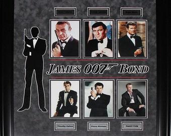 James Bond Frame Etsy