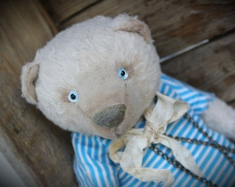 "Teddy Bear PATTERN   ""In Love With The Sea"" Artist PDF  Pattern"