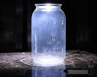Mason Jar Light - LED Solar Light Lid for Regular Mouth Mason Jars