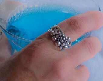 Size 6.5 Coalescence Bubble Ring