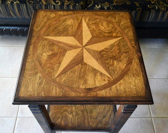 """Country home decor, """"Rustic home decor"""", End table or Night stand """"FREE SHIPPING""""..."""
