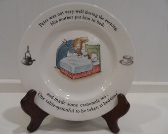Peter Rabbit by Wedgwood Children's Breakfast Plate
