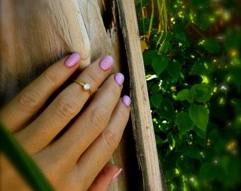 Midi Ring Gold Midi Ring Knuckle Ring Diamond Midi Ring CZ Midi Ring Stretch Midi Ring Toe Ring Crystal Midi Ring Tiny Midi Stretch Toe Ring