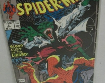 1990 Spider-Man #2 Torment  Pt 2 of 5 The Lizard  Todd McFarlane issue  VF-NM Unread Condition Vintage Marvel Comic Book