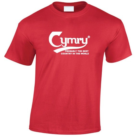 Cymru Probably the best country in the world. Wales Carlsberg funny T-Shirt for Men, Women, Great Gift for anyone Welsh