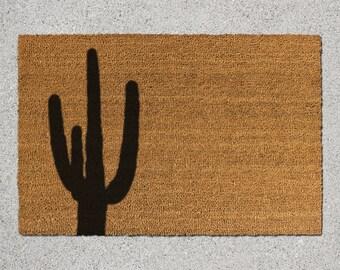 Cactus Doormat, Cactus Door Mat, Cactus Welcome Mat, Doormat, Door Mat, Welcome Mat, Desert Door Mat, Desert Doormat, Desert Welcome Mat