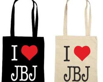 I Love JBJ - Jon Bon Jovi Fan - Bon Jovi Lightweight Tote Bag