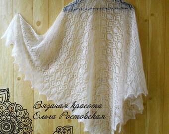 wedding, Hand knit Shawl, knit Shawl, knitted shawl, Lace shawl, Free shipment worldwide!!!