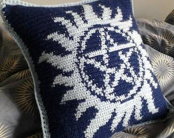 Supernatural Tattoo Pillow Pattern