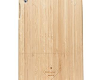 Bamboo Wood iPad Air Case