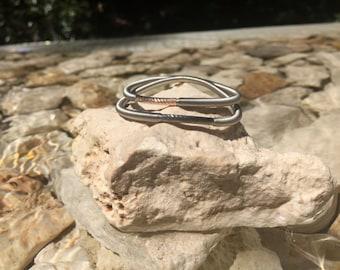 Elegance-3mm Tubes Steel Bracelet