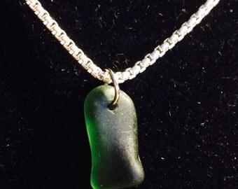 Genuine Beach glass necklace from Lake Erie