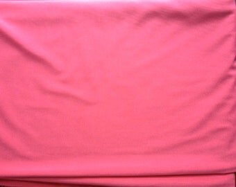 Pink Coral Knit Fabric