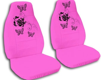 Butterfly Design Car Seat Covers....Many Colours...All Cars..