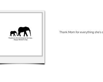 Funny Love Cards, Hello Cards, Mother's Day Cards, Instant Download or Printed Just For You