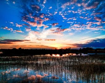 An Everglades Sunset
