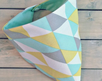 Geometric shapes Bandana Bib