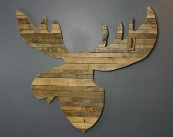 mixed wood wall art