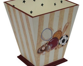 Varsity Waste Basket