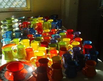 Plain Bright mugs