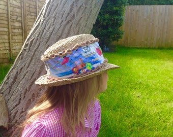 Hand customised, unique , one off hats for children and grown up's!