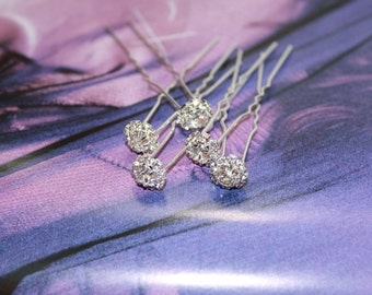 Cubic Zirconia Hair Pins for Bridal, Prom or any Occassionware