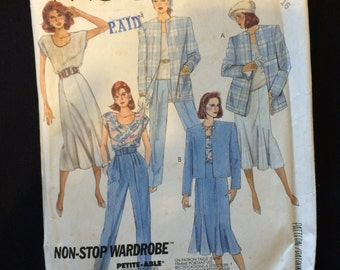 McCalls 2931 Womens Wardrobe Pattern