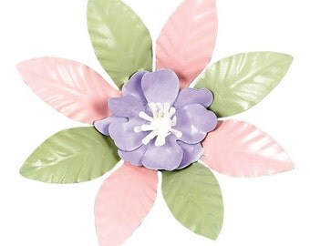 XL Flower Magnet Lavender Center MG4001