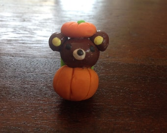 Rilakuma in a Pumpkin