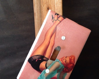 Pin Up art light switch cover