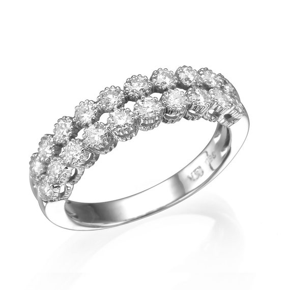 items similar to multi diamonds ring band