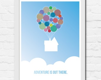 Adventure is Out There - Printable