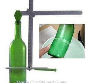 Diamond Tech G2 Generation Green Bottle Cutter  Recycles wine bottles, beer bottles, jugs etc into glasses, windchimes